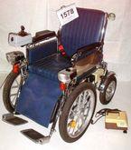 DOW 207.E Blau/Chrom Wheelchair